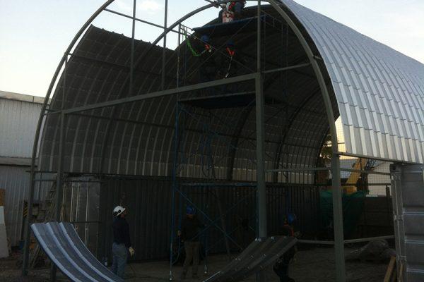 Fabricación, Montaje Estructuras Galpón Gardilcic